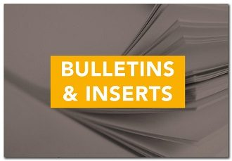 Bulletins and Inserts